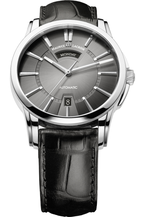 Mens Maurice Lacroix Pontos Day/Date Automatic Watch PT6158-SS001-23E
