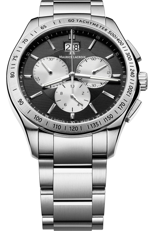 Mens Maurice Lacroix Miros Chronograph Watch MI1028-SS002-332