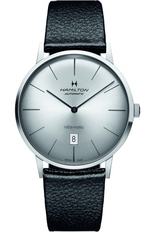Mens Hamilton Intra-Matic 42mm Automatic Watch H38755751