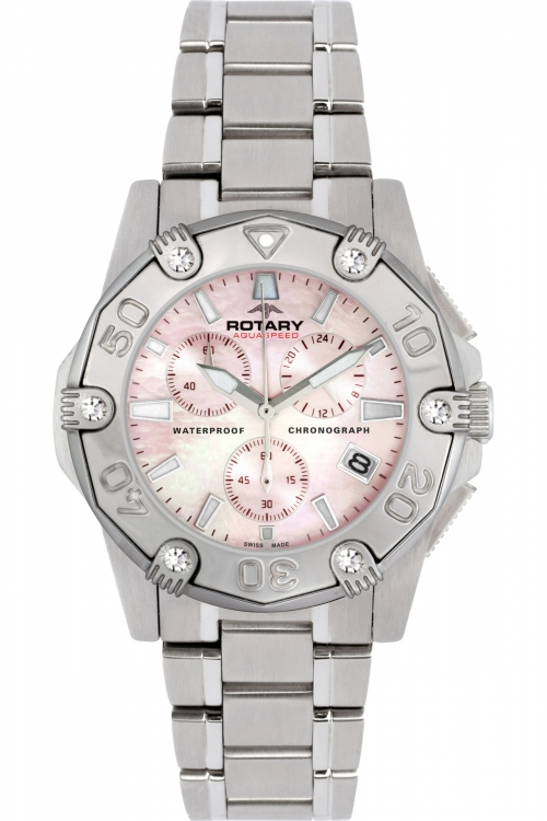 Ladies Rotary Aquaspeed Pacific Chronograph Watch