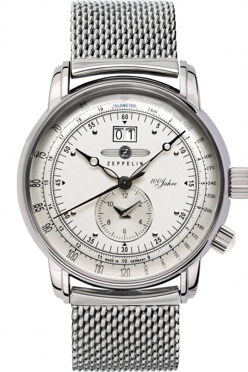 Mens Zeppelin 100 Jahre Watch 7640M-1