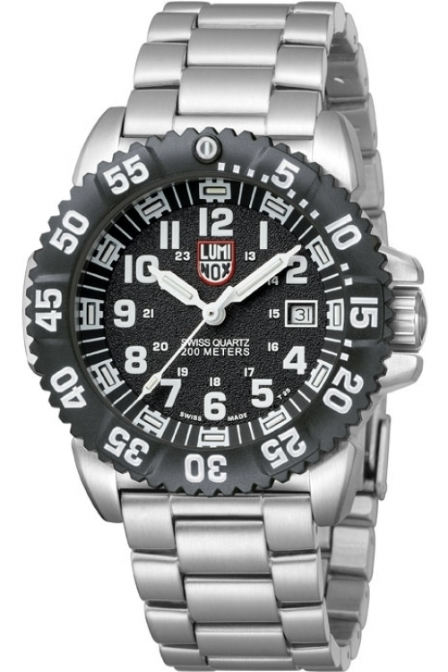 Mens Luminox Navy SEAL Steel Colormark 3150 Series Watch A3152