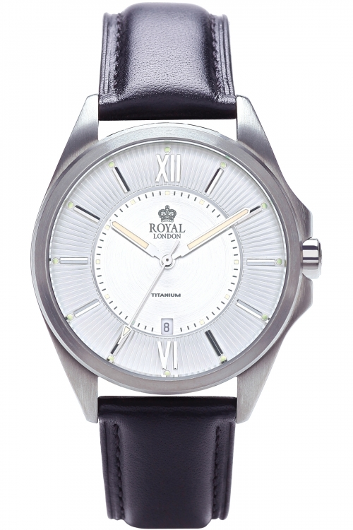 Mens Royal London Titanium Watch 40143-01
