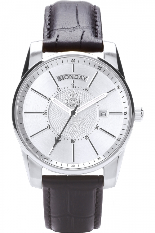 Mens Royal London Day-Date Watch 41133-01