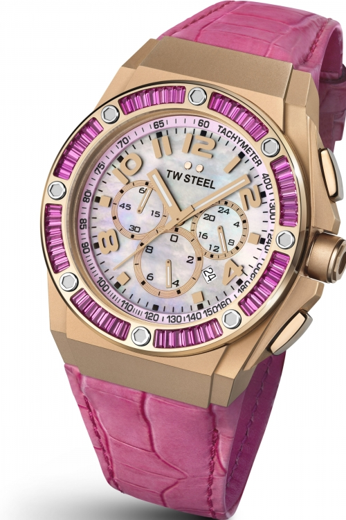 Ladies TW Steel CEO Kelly Rowland Edition Chronograph 44mm Watch