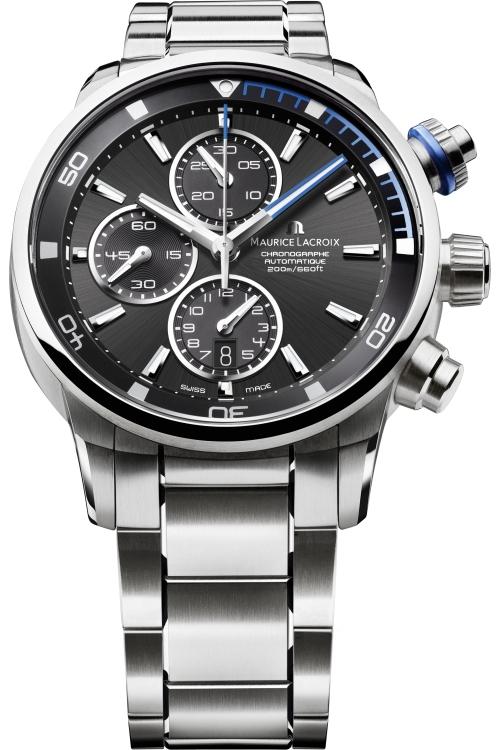 Mens Maurice Lacroix Pontos S Automatic Chronograph Watch PT6008-SS002-331