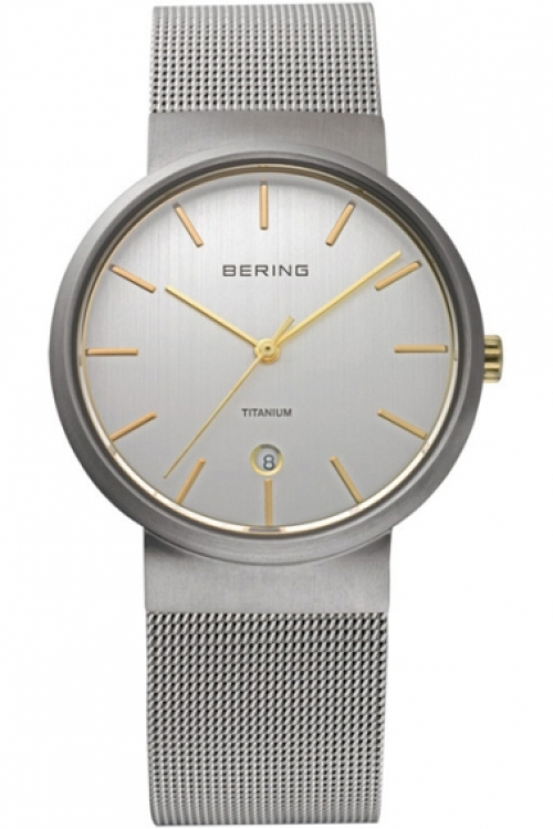 Mens Bering Titanium Watch 11036-004