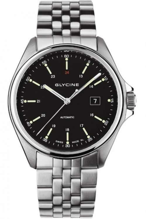 Mens Glycine Combat 6 Automatic Watch 3890.19-1