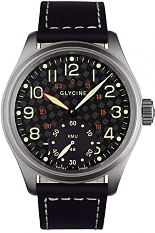 Mens Glycine KMU Limited 09 Mechanical Watch 3889.19-LB9