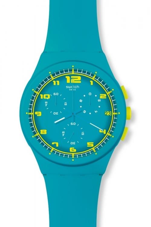 Mens Swatch Acid Drop Chronograph Watch SUSL400