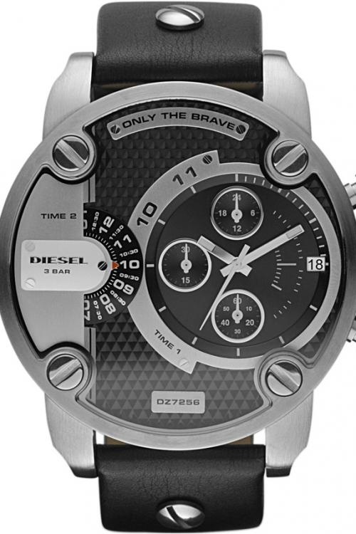Mens Diesel Little Daddy Chronograph Watch DZ7256