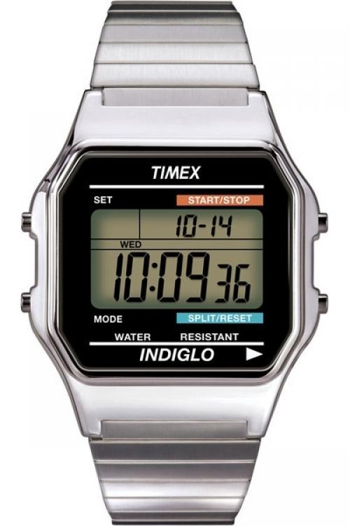 Mens Timex Timex 80 Alarm Chronograph Watch T78587