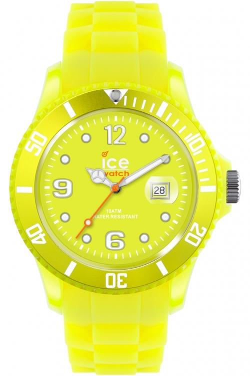 Big-Big Ice-Watch Ice-Flashy - neon yellow extra big Watch SS.NYW.BB.S.12