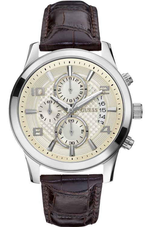 Mens Guess Exec Chronograph Watch W0076G2
