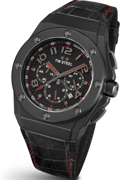 Mens TW Steel Grandeur Tech 44 Chronograph 44mm Watch CE4008
