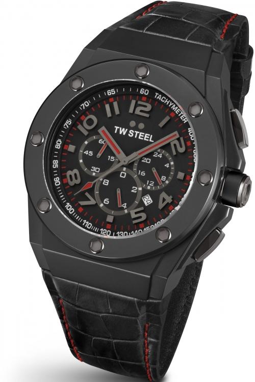 Mens TW Steel Grandeur Tech 48 Chronograph 48mm Watch CE4009