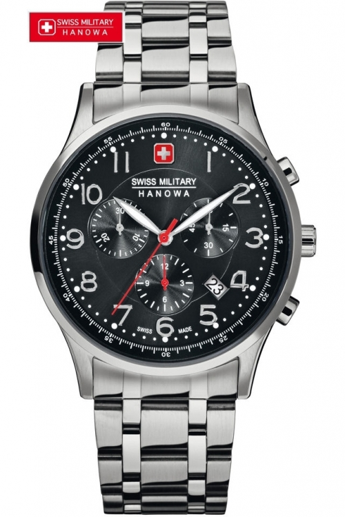 Mens Swiss Military Hanowa Patriot Chronograph Watch