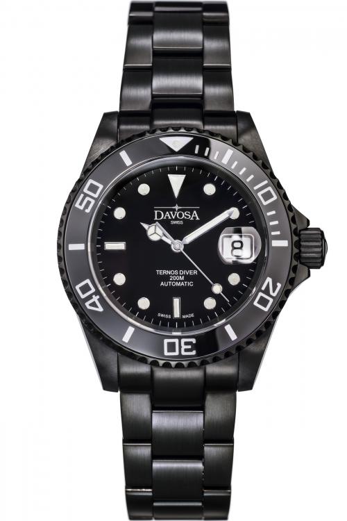 Mens Davosa Ternos Diver DLC Automatic Watch 16160055