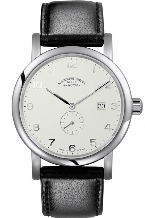 Mens Muhle Glashutte Antaria Kleine Sekunde Automatic Watch M1-39-15-LB