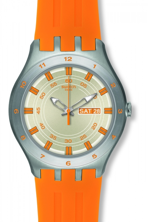 Mens Swatch Apricotime Watch YTS712