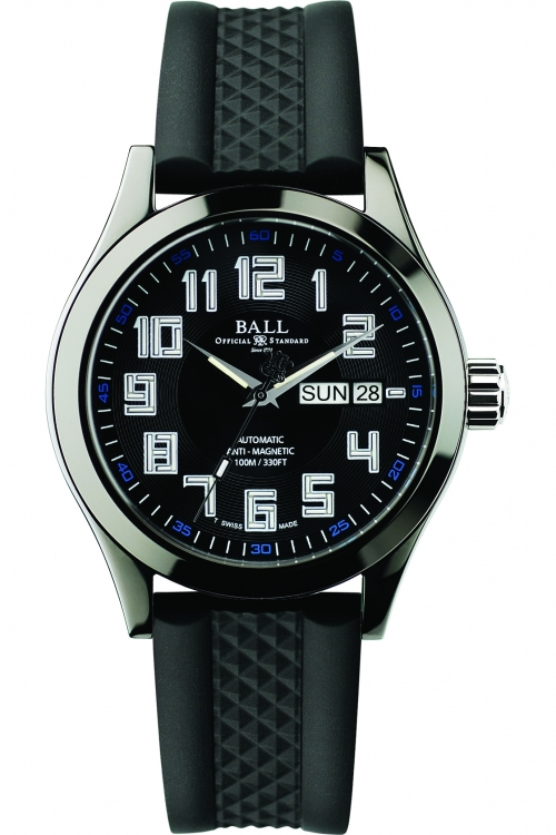 Mens Ball Engineer Master II DLC Automatic Watch NM2020C-PA-BKBE