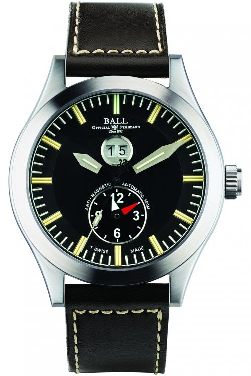 Mens Ball Engineer Master II Aviator Dual Time Automatic Watch GM2086C-L1-BK