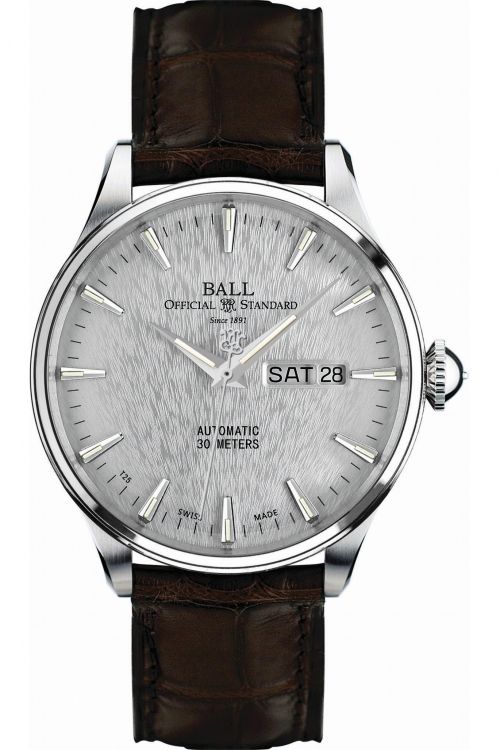 Mens Ball Trainmaster Eternity Automatic Watch NM2080D-LJ-SL