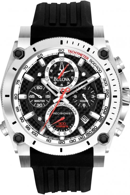 Mens Bulova UHF Precisionist Chronograph Watch 98B172