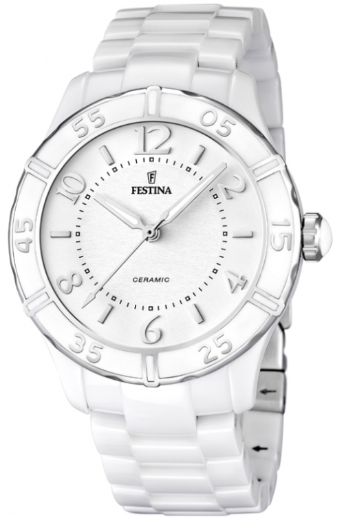 Ladies Festina Ceramic Watch