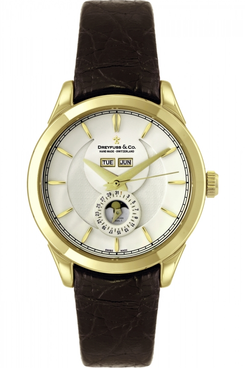 Mens Dreyfuss Co 1925 Moonphase Automatic Watch DGS00069/03
