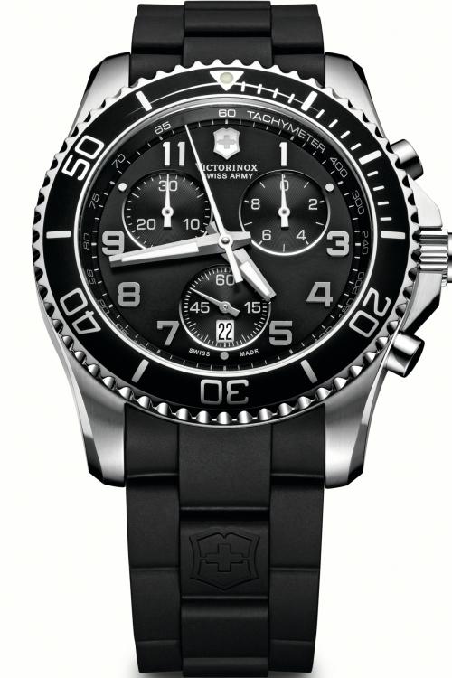 Mens Victorinox Swiss Army Maverick GS Chronograph Watch 241431