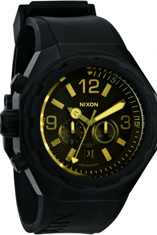 Mens Nixon The Steelcat Chronograph Watch A313-2354