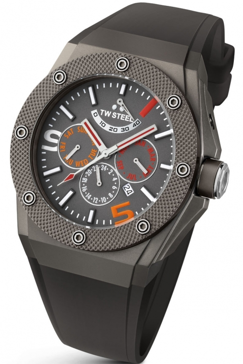Mens TW Steel CEO Tech Mick Doohan Limited Edition Automatic 48mm Watch CE4010