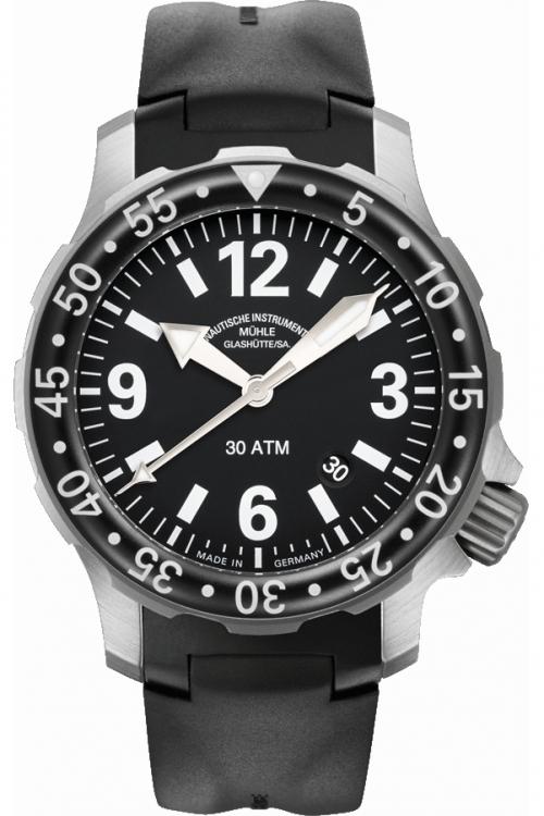 Mens Muhle Glashutte Marinus Automatic Watch M1-28-43-KB