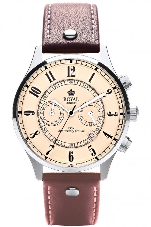 Mens Royal London Chronograph Watch 41111-01