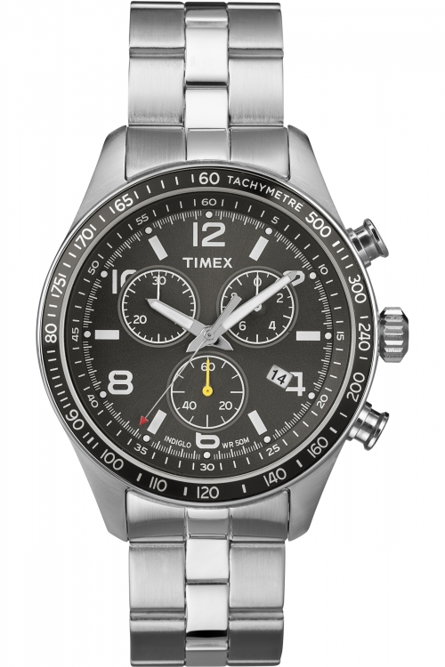 Mens Timex Indiglo Sport Chronograph Watch T2P041