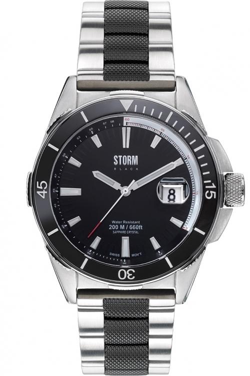Mens Storm Black Made In England Aquatec Watch AQUATEC-BLACK