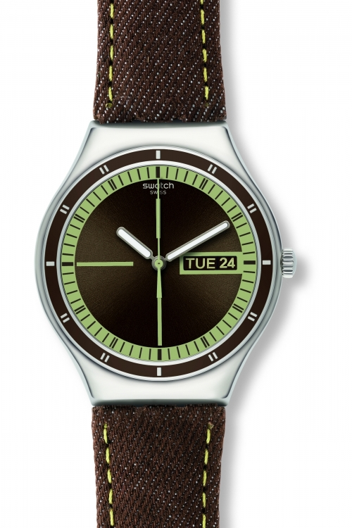 Mens Swatch Cotton Target Watch YGS761