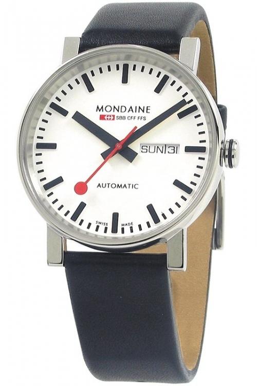 Mens Mondaine Swiss Railways Automatic Watch A1323034811SBB