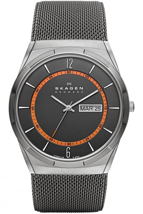 Mens Skagen Melbye Titanium Watch SKW6007