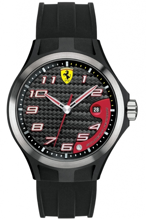 Mens Scuderia Ferrari SF102 Lap Time Watch 830012