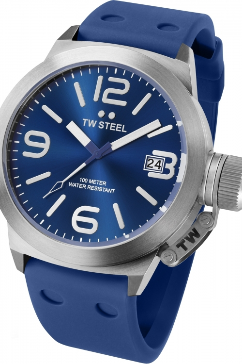 Mens TW Steel Canteen Colour 45mm Watch TW0500