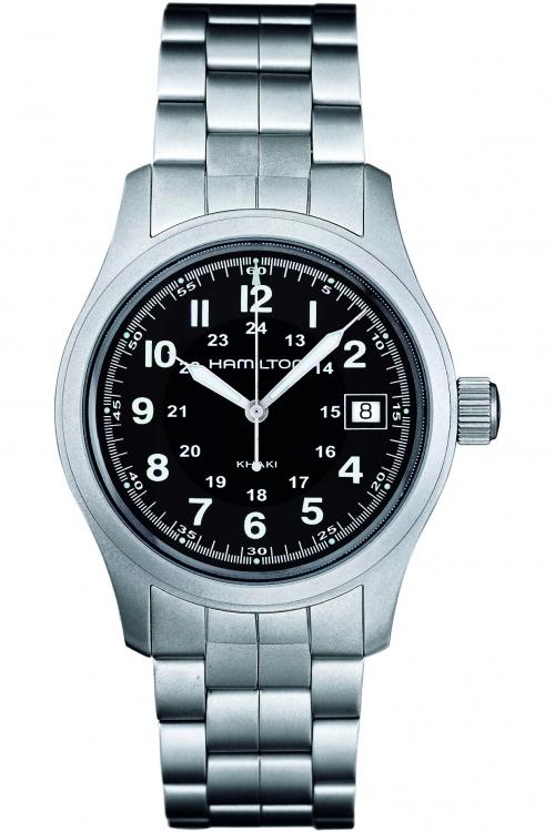 Mens Hamilton Khaki Field Quartz 38mm Watch H68411133
