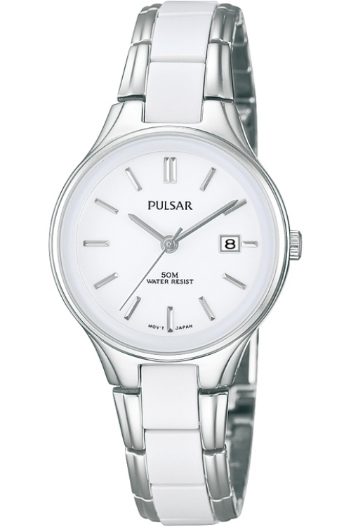 Ladies Pulsar Ceramic Watch