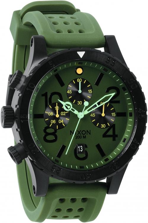 Mens Nixon The 48-20 Chrono P Chronograph Watch A278-2089