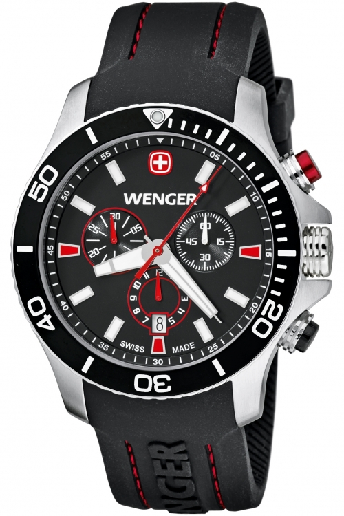 Mens Wenger Sea Force Chronograph Watch 10643102