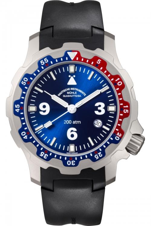 Mens Muhle Glashutte Rasmus 2000 Automatic Watch M1-28-82-KB