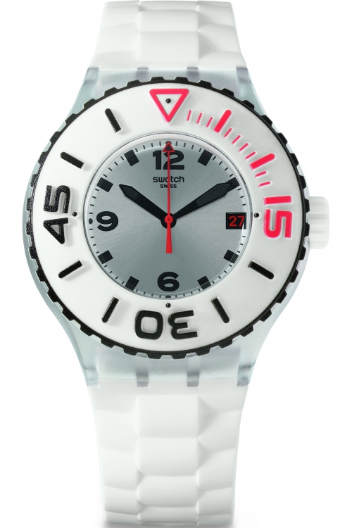 Mens Swatch Blanca Watch SUUK401