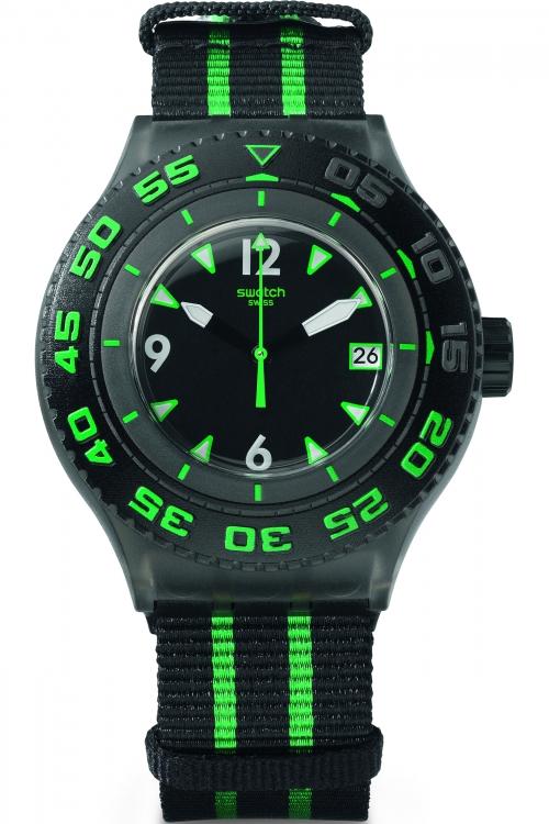 Mens Swatch Deep Turtle Watch SUUM400