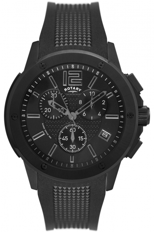 Mens Rotary Chronograph Watch GS00005/46/19